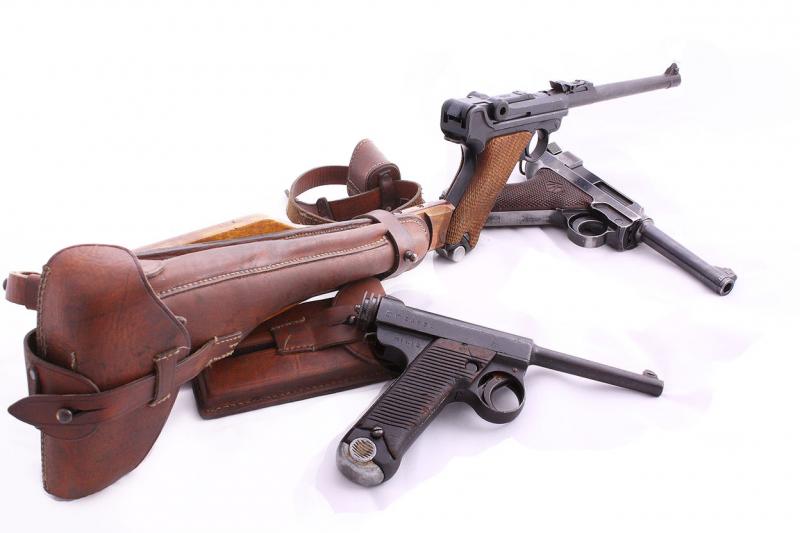 Краткая история пистолетов-карабинов. Часть 3. Lange Р08 (LP 08)