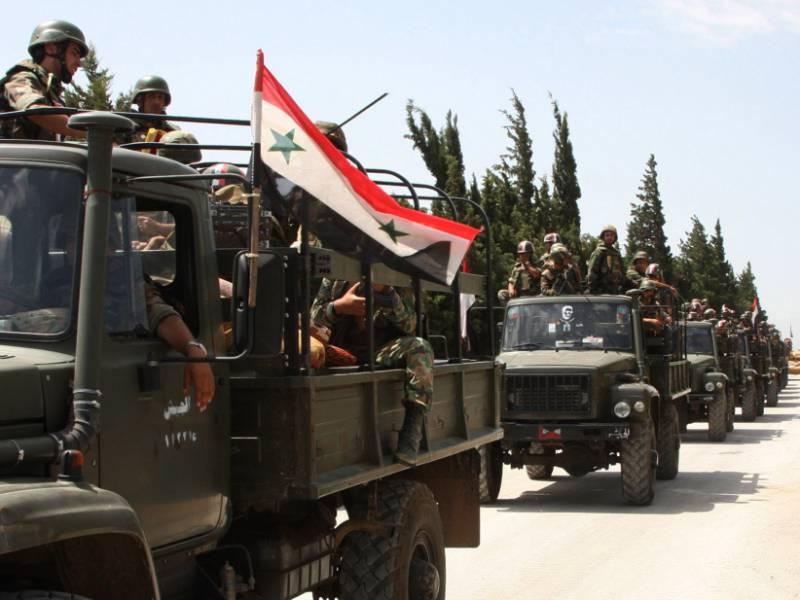 Госдеп не исключил возможных ударов по армии Асада