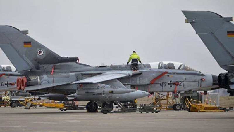 ВВС ФРГ приостановили полёты своих истребителей на авиабазе Инджирлик из-за технической неисправности
