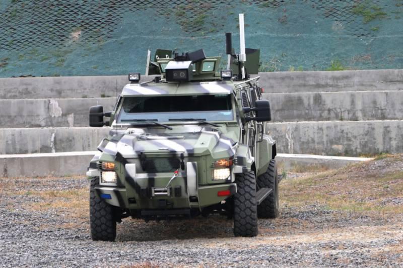 «АвтоКрАЗ» заявил о создании первого украинского беспилотного броневика