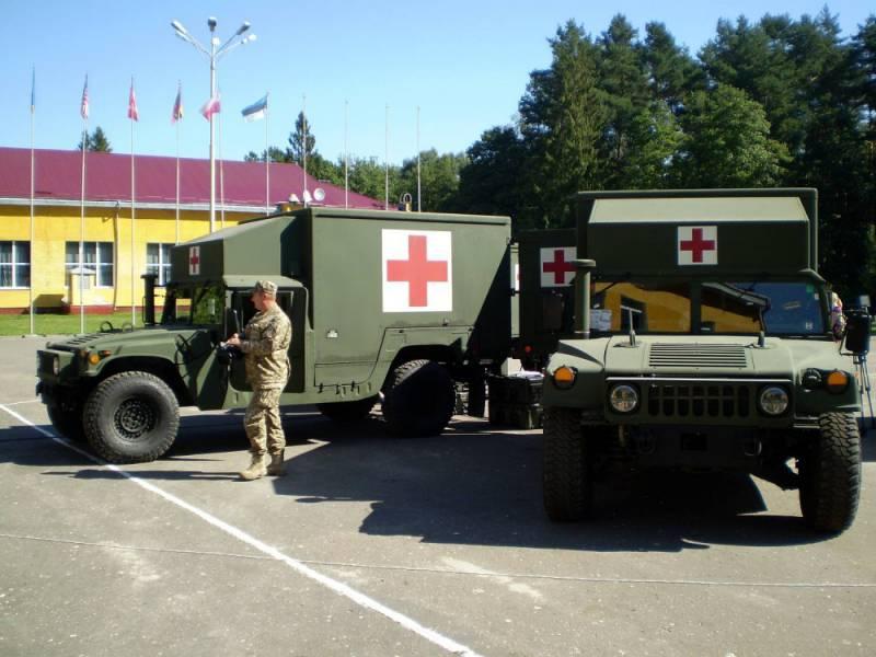 Украина получит от США ещё 40 санитарных машин