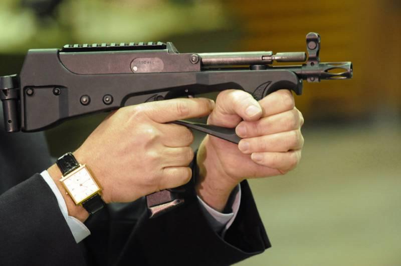 Росгвардию вооружат тульскими пистолетами-пулемётами