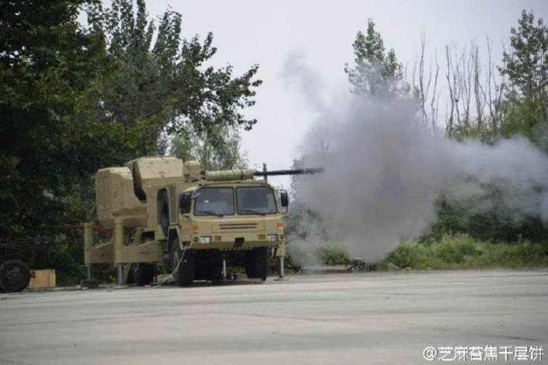 Китайская зенитная установка на базе корабельной системы PJ-26