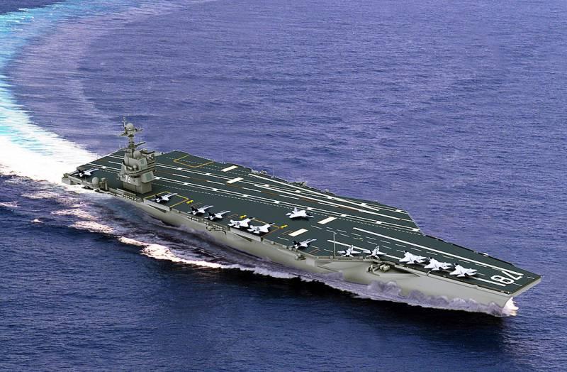 Передача нового авианосца ВМС США снова отложена