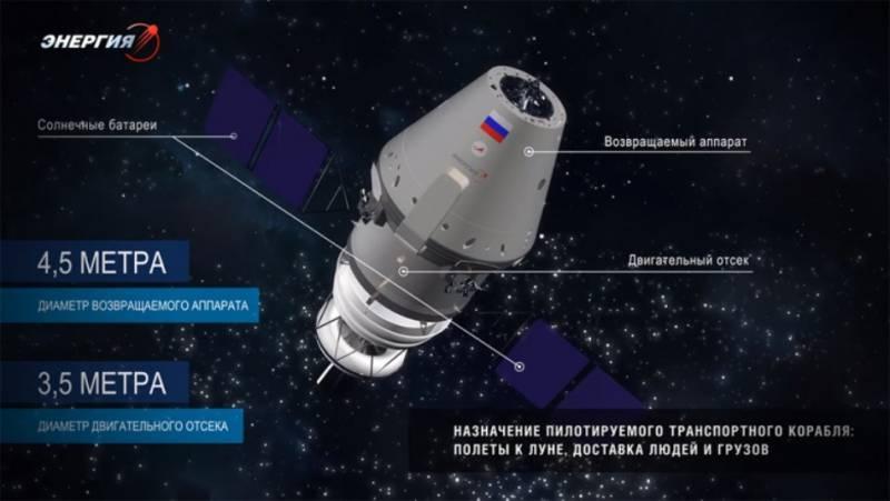 «Роскосмос» заключит контракт на создание пилотируемого корабля нового поколения
