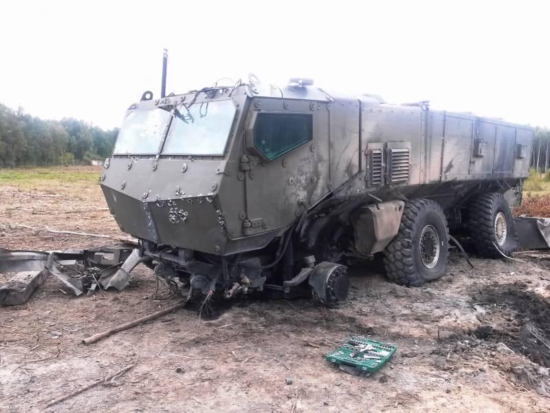 Завод-изготовитель: бронеавтомобиль «Тайфун-К» успешно выдержал испытания на подрыв и обстрел
