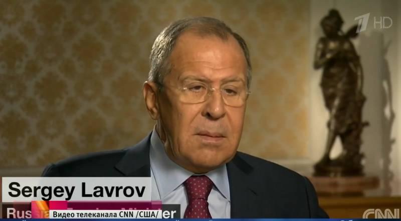 Лавров: Россия, в отличие от Америки, размещает вооружения на своей территории