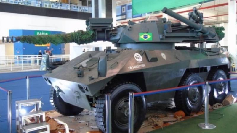 Бразильская компания представила модернизированный вариант «Гремучей змеи»