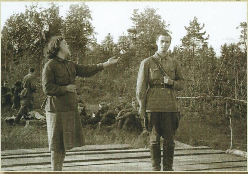 Как Галя призналась в любви (история военного снимка)