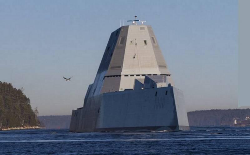 Zumwalt введён в состав ВМС США