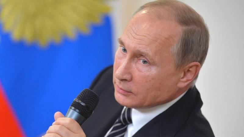 Путин показал фигу Западу