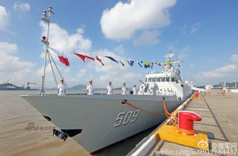 В Китае за месяц спущены на воду 4 корвета