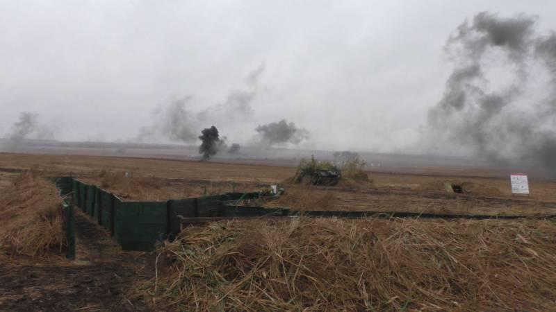 Новая провокация украинских силовиков на южном направлении