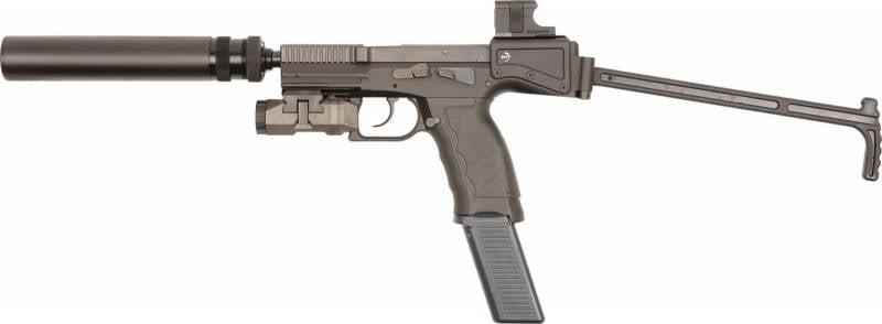 Краткая история пистолетов-карабинов. Часть 7. B&T USW