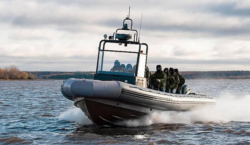 В Рыбинске прошёл испытания новый десантный катер