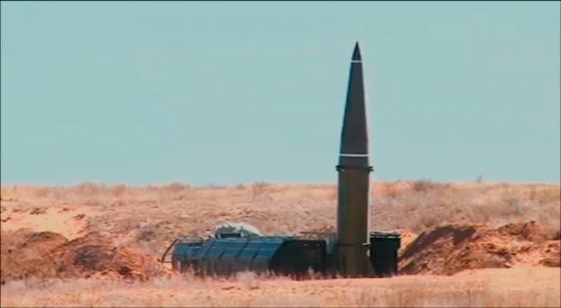 Новый вариант ракеты комплекса «Искандер-М» (видео)