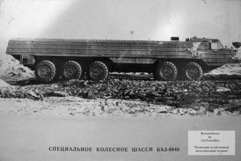 Проект оперативно-тактического ракетного комплекса 9К716 «Волга»