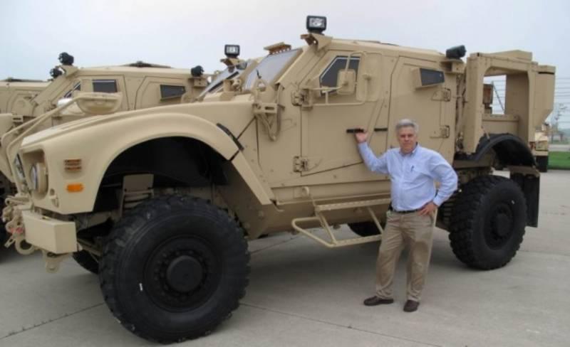 Пентагон получил первую партию новых бронемашин