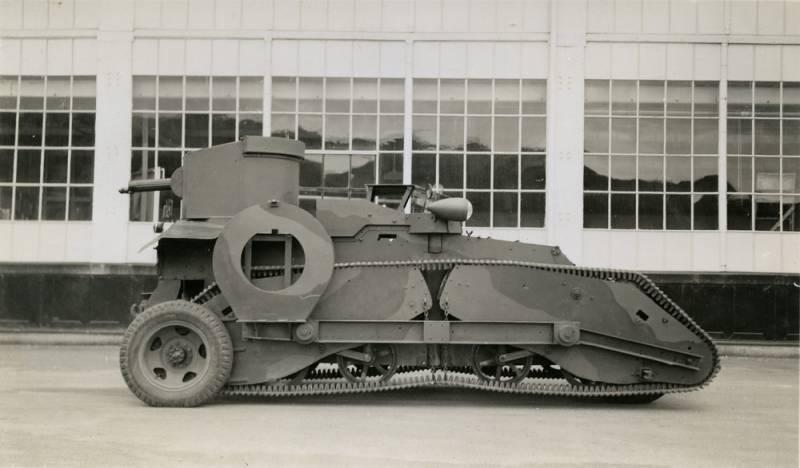 Танк Е.Дж. Скофилда образца 1940 года (Новая Зеландия)
