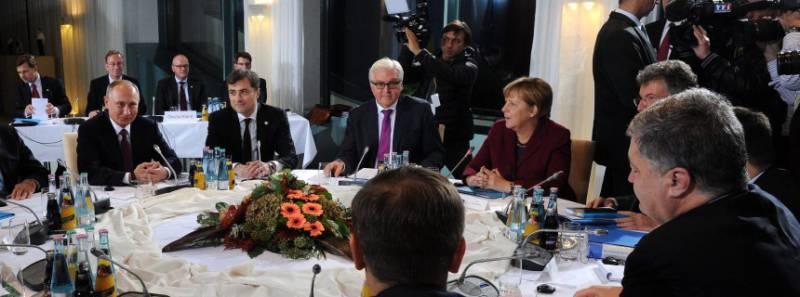 Майданная общественность негодует по поводу заявления Меркель о возврате под контроль Киева границы с РФ