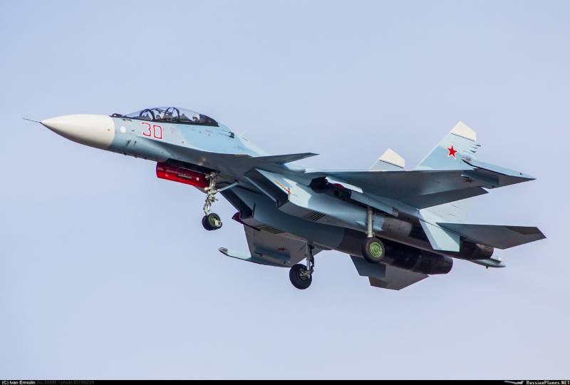 Два новых Су-30СМ направляются в Ростовскую область