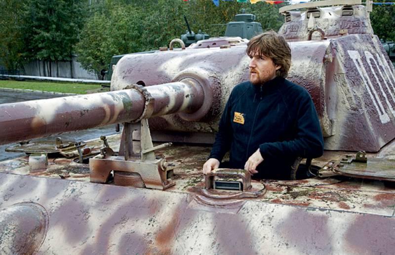 Тест-драйв танка «Пантера»