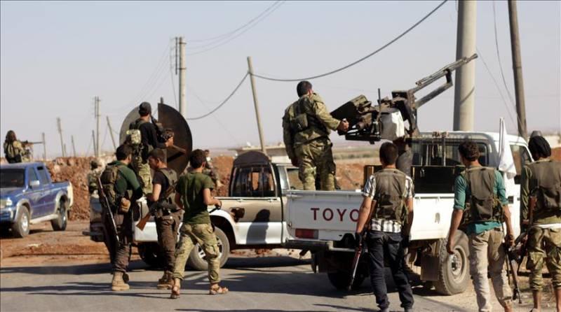 """Численность """"сирийской свободной армии"""" после вторжения Турции выросла втрое"""
