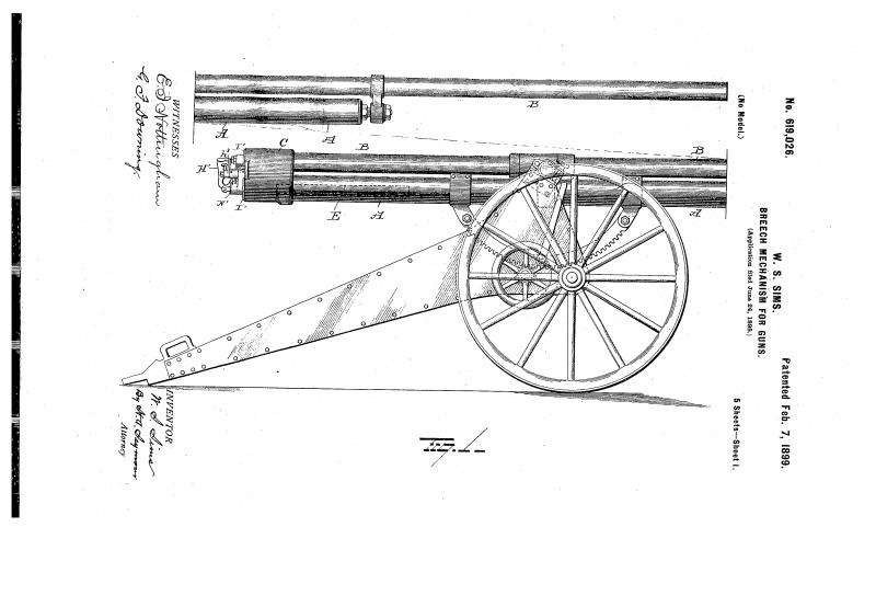 Динамитная пушка Sims-Dudley (США)
