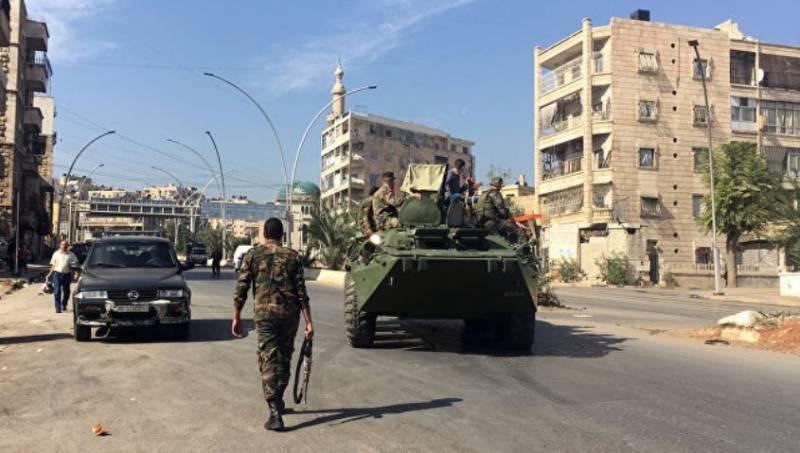 Генштаб ВС РФ: террористы в Алеппо пополняют арсенал и готовятся к наступлению