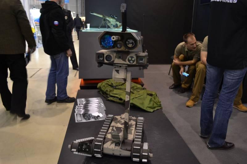 В Москве представлен роботизированный снайперский комплекс