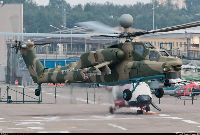 Ми-28НМ вооружат обновлёнными ракетами
