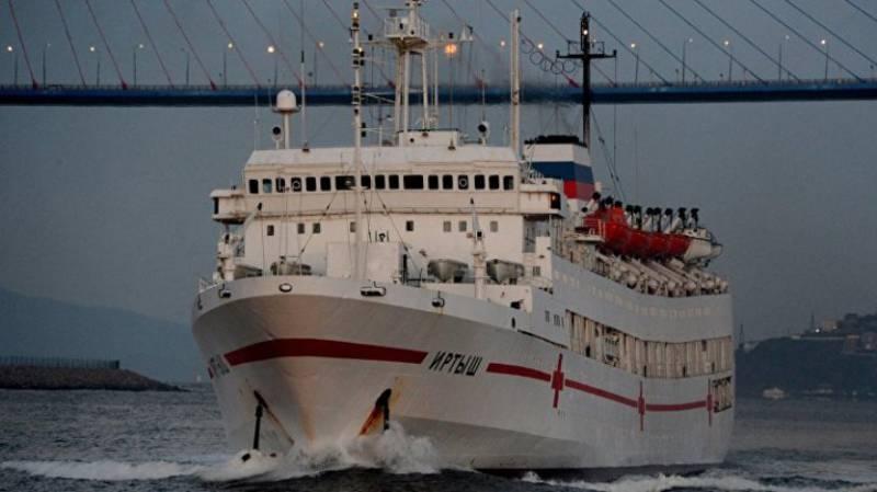 ВМФ: проекты новых госпитальных судов будут разрабатываться в России