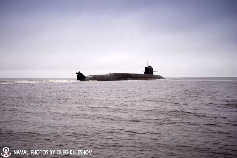 АПЛ «Подмосковье» вышла на ходовые испытания после модернизации