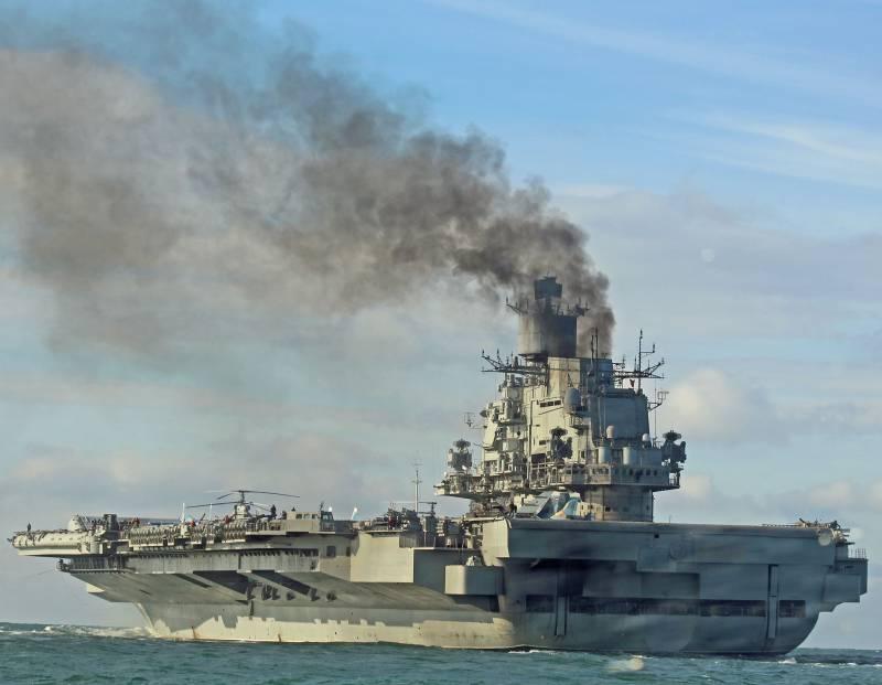 Почему дальний поход российской АУГ в Средиземноморье вызвал всеобщую панику в Британии?