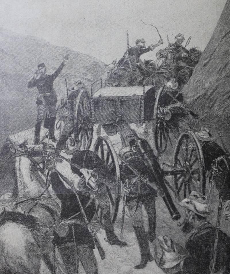 Англо-трансваальская война в иллюстрациях журнала «Нива»