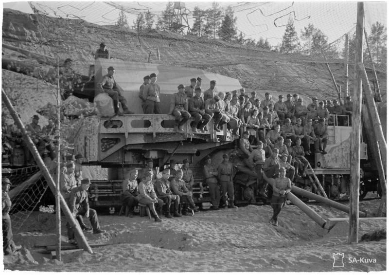 Финская артиллерия просто не могла добить до Ленинграда.