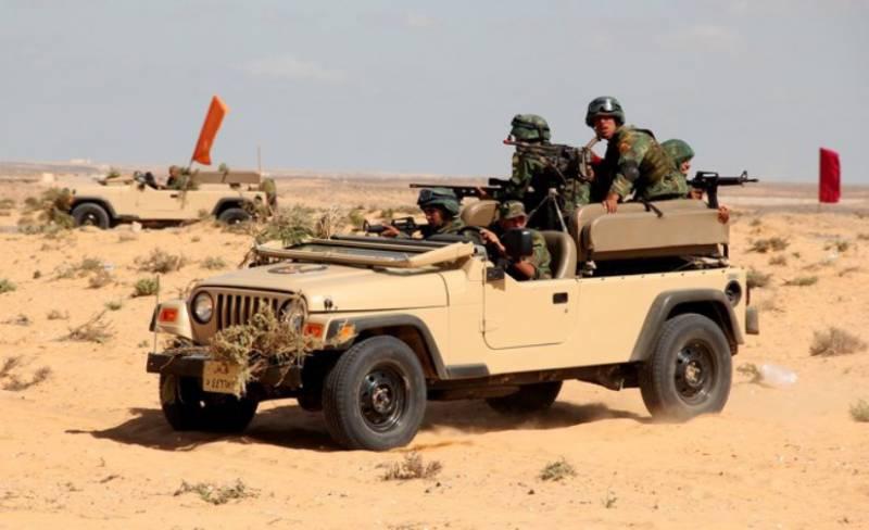 Российские военные записали видеоклип о совместном учениии в Египте
