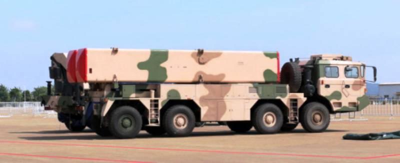 Китай представит экспортный вариант ОТРК DF-12