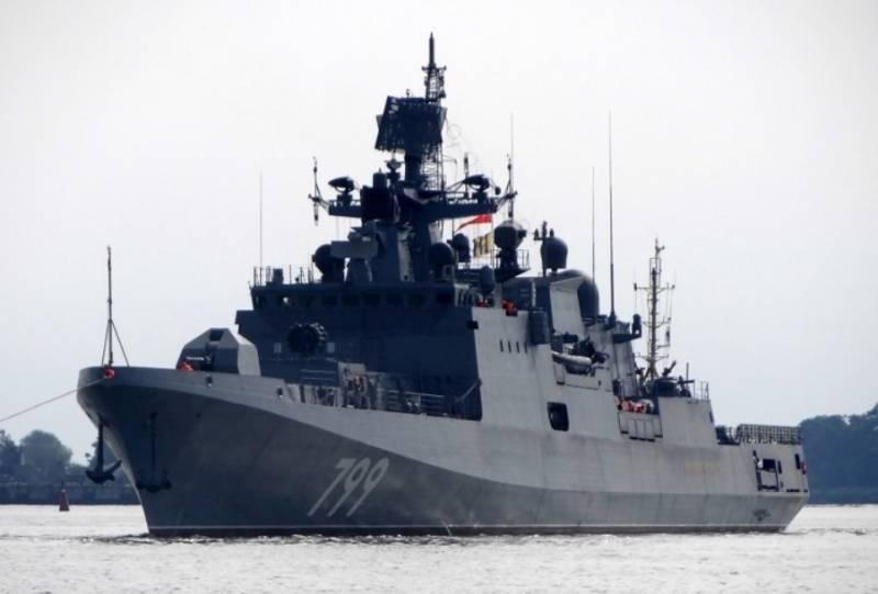 Фрегат «Адмирал Макаров» пройдёт дальнейшие этапы испытаний в Баренцевом море