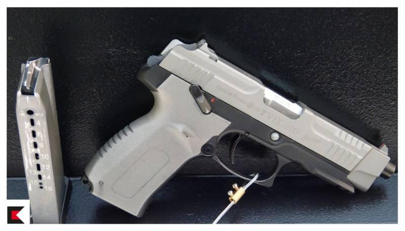 «Калашников» представил модернизированный спортивный пистолет MP-446C Viking-M
