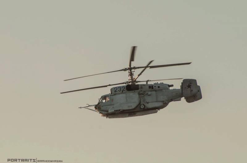 В Сирии замечен российский вертолёт радиолокационной разведки Ка-31СВ