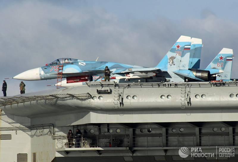«Адмирал Кузнецов» заставил британцев вспомнить о «старом враге»