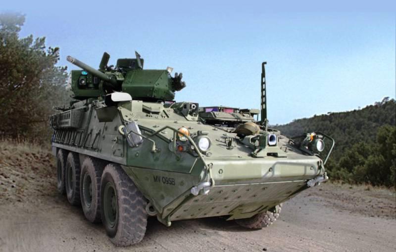 ВС США получили для испытаний первую бронемашину Stryker с 30-мм пушкой