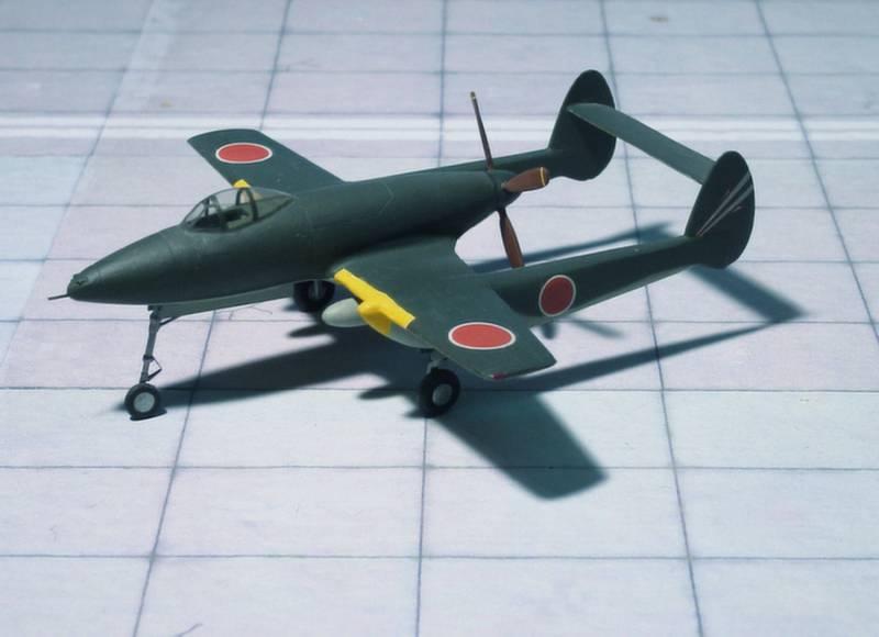 Проект многоцелевого истребителя Ki-98