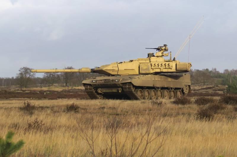 Германия планирует увеличить парк «Леопардов» почти на 100 единиц