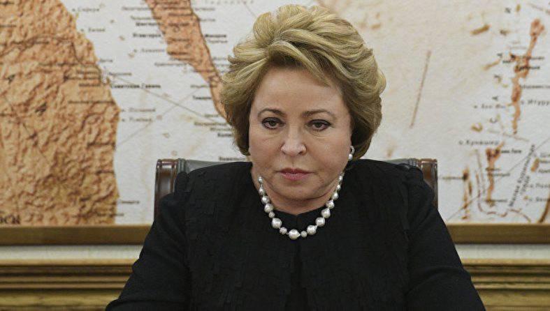 Матвиенко: никакого ограничения суверенитета над Курилами не будет