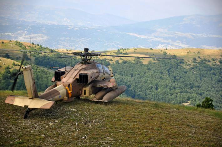 Израильские военные намерены модернизировать весь парк вертолётов Apache