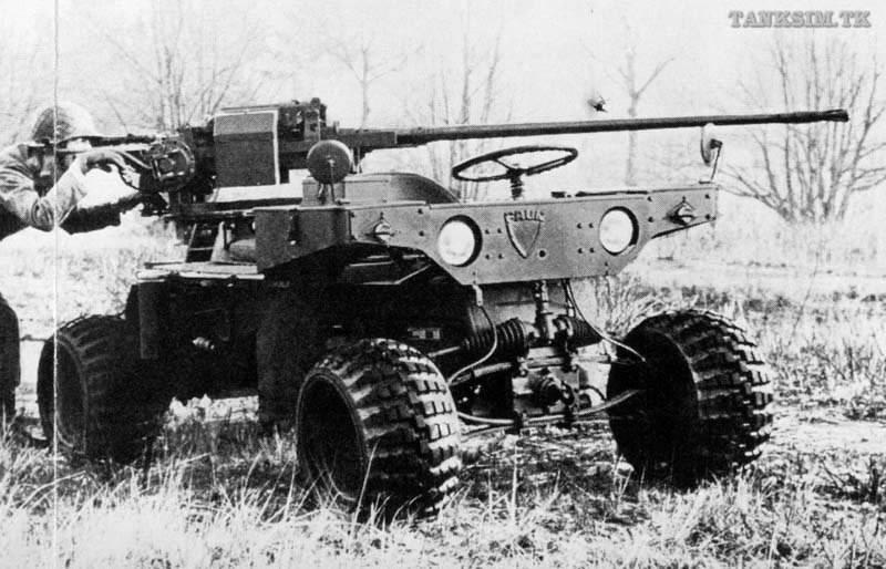 Авиадесантная складная машина FAUN Kraka-640
