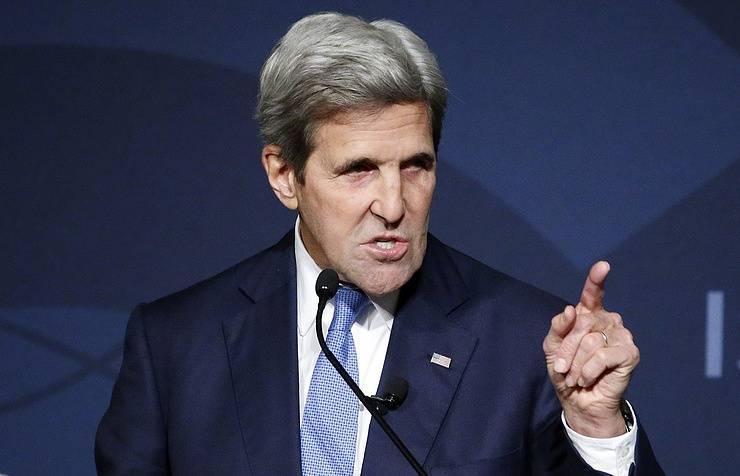 Керри: президент США решит, когда предпринять ответные меры на «российскую кибератаку»
