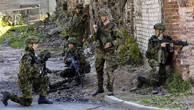 Эстонские строители приступают к строительству казарм для натовского многонационального батальона